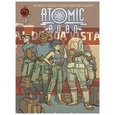 Atomic Robo E La Spada Selvaggia Del Dr. Dinosauro