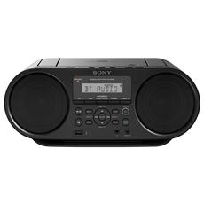 Stereo Portatile ZS-RS60BT Lettore CD Bluetoot / NFC USB Mega Bass Pootenza 4Watt colore Nero