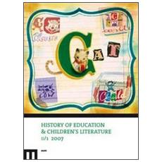 History of education and children's literature (2007) . Vol. 1