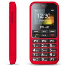 "C151 Senior Phone Colore Rosso Display 1.8"" Bluetooth con Tasti Grandi +SOS"