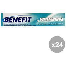 Set 24 Dentifricio 75 Ml. Whitening Prodotti Per Il Viso