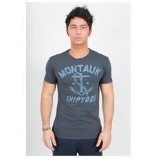 T-shirt Da Uomo Nantucket Grigio L