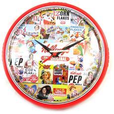 orologio da parete '' multicolore rossi (24 cm) - [ n2147]