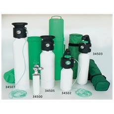 Bombola Ossigeno - Con Riduttore Di Pressione Uni Integrato - 0.5 L