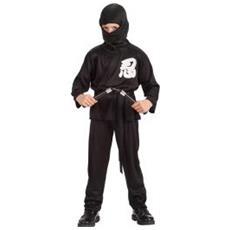 Costume Guerriero Ninja T Unica (v Vi) Cf1
