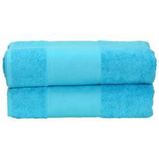 Telo Da Bagno (taglia Unica) (azzurro Intenso)
