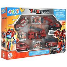 Spa Playset Vigili Del Fuoco Traxfigure Robot 38963