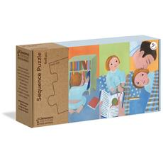 Sequence Puzzle Per Bambini, Multicolore, 16230