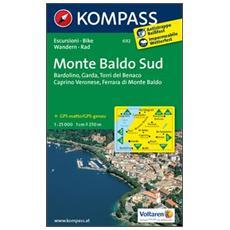 Carta escursionistica n. 692. Monte Baldo Sud 1:25.000. Adatto a GPS. DVD-ROM. Digital map