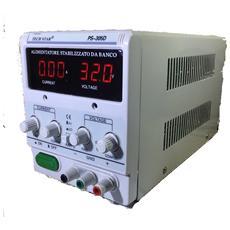 Trasformatore Alimentatore Stabilizzato Da Banco Regolabile Fino a 30V e 5A