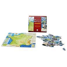 1096-2-puzzle, Francia, Colore: Rosso