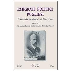 Emigrati politici pugliesi. Sovversivi e fuoriusciti nel Novecento
