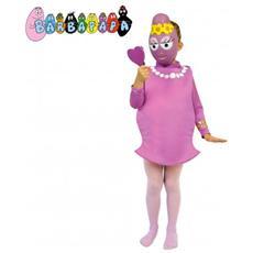 197734 Costume Carnevale Travestimento Barbabella Bambina Da 2 A 7 Anni - 2/3 Anni