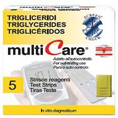 Multicare® Strip Trigliceridi - 5 Pz. + 1 Chip