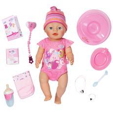 822005, Ragazza, Multicolore, Doll bib, Certificato di nascita della bambola, Braccialetto bambola, Feeding bottle, Doll hat, Ciuc