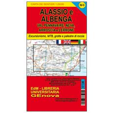 Im9 valli Neva, Pennavaire, Arroscia e Lerrone. Carta dei sentieri di Liguria