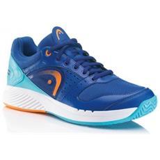 Scarpa Tennis Uomo Sprint Team 45,6 Blu Arancio