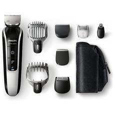 QG3371/16 Multigroom Kit Professionale Colore Nero / Silver