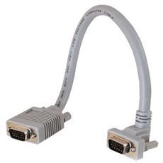 Cavo Video C2G 81053 - for Monitor - Schermato - 1 Pacco - 1 x HD-15 Maschio VGA - 1 x HD-15 Femmina VGA - Cavo estensione - Grigio