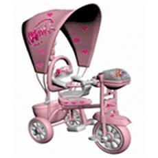 Triciclo con Cappotta Winx Rosa