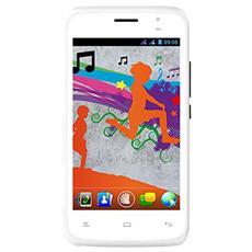 "Run Bianco 4 GB Dual Sim Display 4"" Fotocamera 8 Mpx Android Italia"