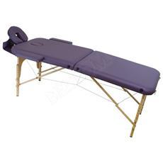 Lettino Massaggio 2 Zone Leggero - Lilla