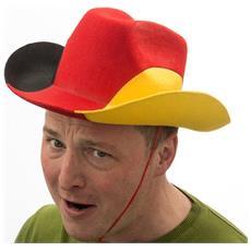 Cappello Da Cowboy Bandiera Tedesca