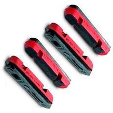 Freni Campagnolo Hyperon-bora / dura Ace Shimano Pack Of 4 Caliper Inserts Ricambi Dei Componenti