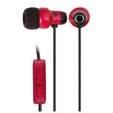Auricolare Stereo earbuds 3.5 mm - Rosso