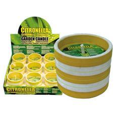 Cero di Citronella in Coccio 10 cm 9 Pz