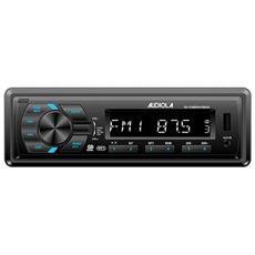 SD-1238 RDS / USB / AX Autoradio RDS con USB, Slot Micro SD e AUX (Black)