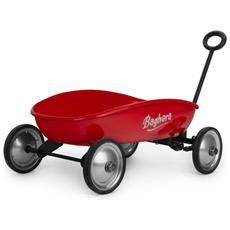 Grande Carrello Trainabile Rosso 854