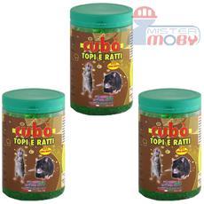 Repellente disabituante lunga durata allontana anti ratti topi cubo gel 3x 2,5 lt