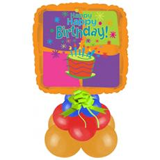 Centrotavola Compleanno Quadrato