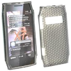 Silicone Case Nokia X7-00 Nero Prisma