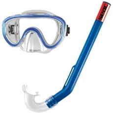 Set Marina Siltra, Kit Maschera Sub E Boccaglio Snorkeling Per Bambini