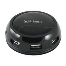 Mini HUB 7 Porte USB 2.0 Nero