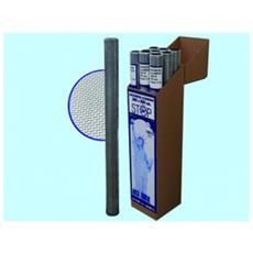 Zanzariere Alluminio Americana Stop Inset 18x14 Miniroll - Altezza 100 Cm. Mt 3 Pz-1.