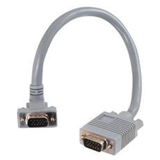 Cavo Video C2G 81063 - for Monitor - Schermato - 1 Pacco - 1 x HD-15 Maschio VGA - 1 x HD-15 Maschio VGA - Grigio