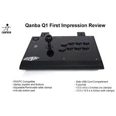 Q1 Ps3 & Pc Professional Arcade Joystick (fightstick) Table-game [ video. . .