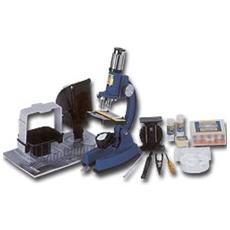 Microscopio Biologico Didattico Con Zoom 100x-1200x, Visore E Proiezione A Muro O Su Carta - cience - Art. 5020
