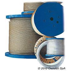Cavo inox 133 fili 7 mm