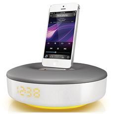 Sistema Audio portatile DS1155/12 Potenza 6 Watt compatibile con iPod / iPhone Colore Bianco