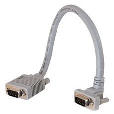 Cavo Video C2G 81052 - for Monitor - Schermato - 1 Pacco - 1 x HD-15 Maschio VGA - 1 x HD-15 Femmina VGA - Cavo estensione - Grigio