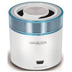 Speaker Audio Portatile Miniblast Bluetooth colore Bianco