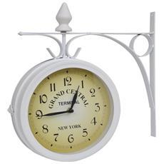 Orologio Da Parete A Due Facciate Disegno Classico