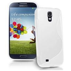 Cover Custodia Sline Silicone Tpu - Bianco - Samsung Galaxy S4