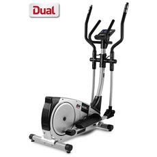 Nls12 Dual G2351 Bicicletta Ellittica Magnetica Con 10 Programmi Predefiniti E 4 Personalizzabili