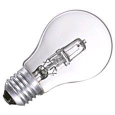 Lampada Goccia Alogene E27 53w