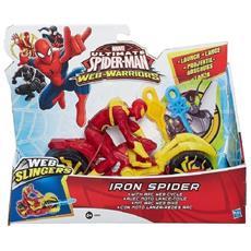 Marvel Ultimate Spider-man Web-warriors Web Iron Spider + Spider Speedster - 5010994848194